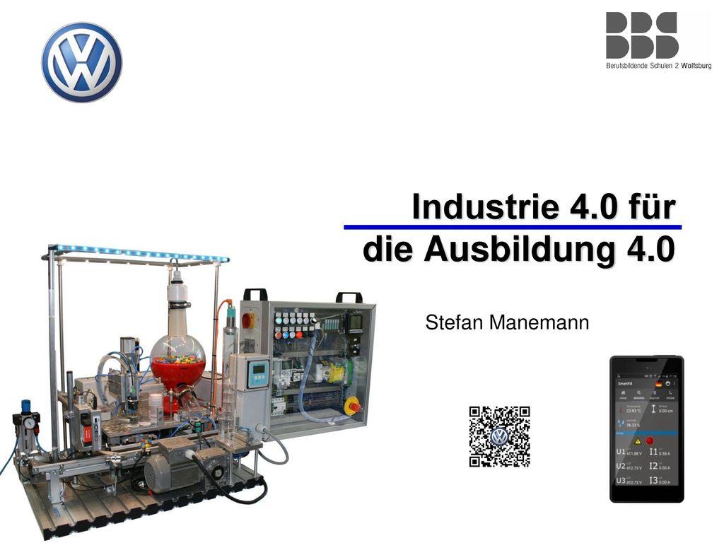 Industrie 4.0 für die Ausbildung 4.0