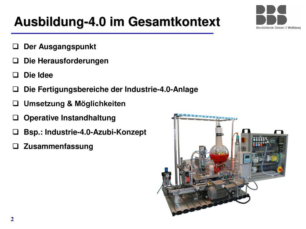 Ausbildung-4.0 im Gesamtkontext