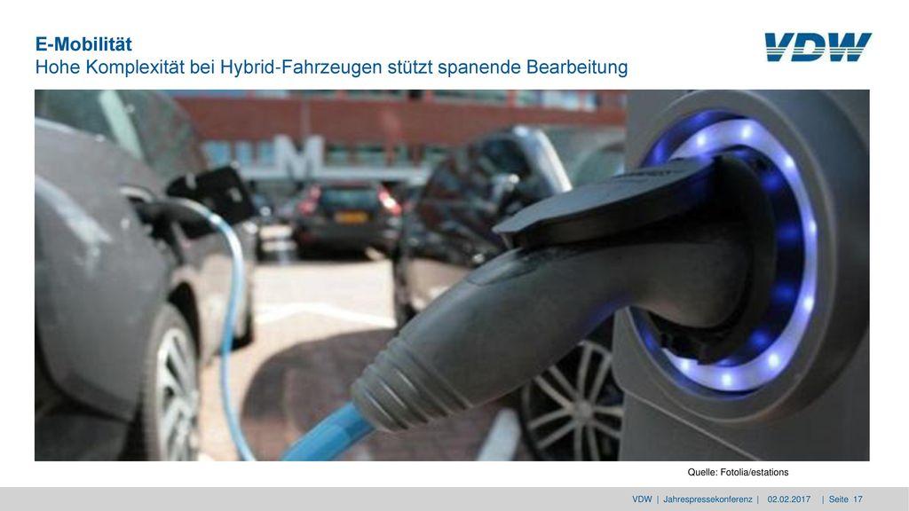 E-Mobilität Hohe Komplexität bei Hybrid-Fahrzeugen stützt spanende Bearbeitung