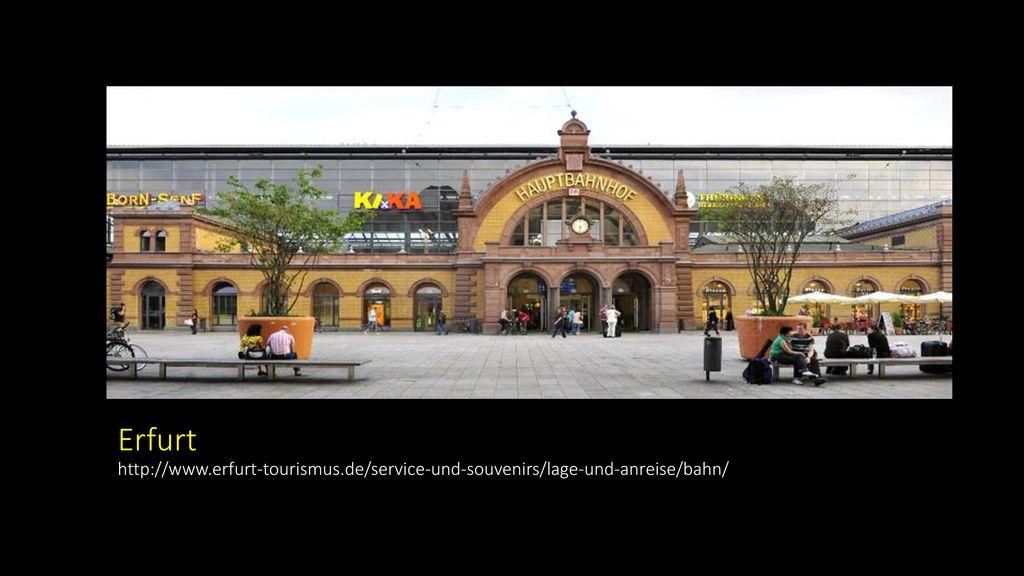 Erfurt http://www. erfurt-tourismus
