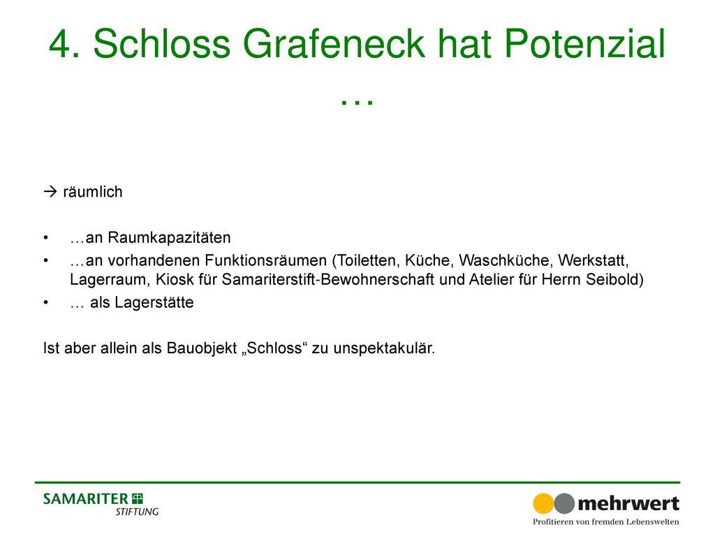 4. Schloss Grafeneck hat Potenzial …