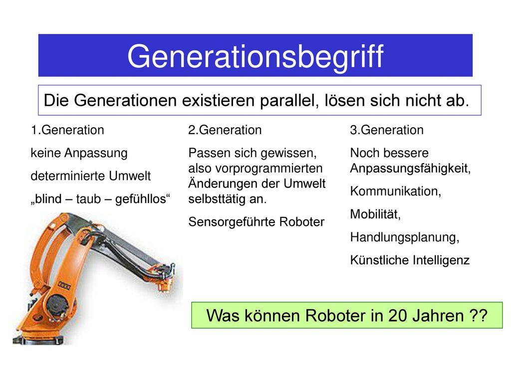 Was können Roboter in 20 Jahren