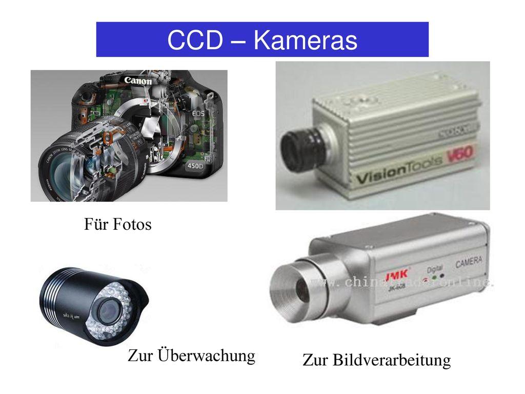 CCD – Kameras Für Fotos Zur Überwachung Zur Bildverarbeitung