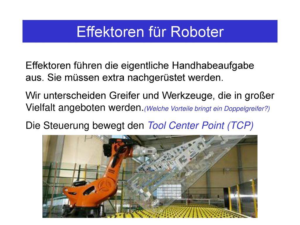 Effektoren für Roboter