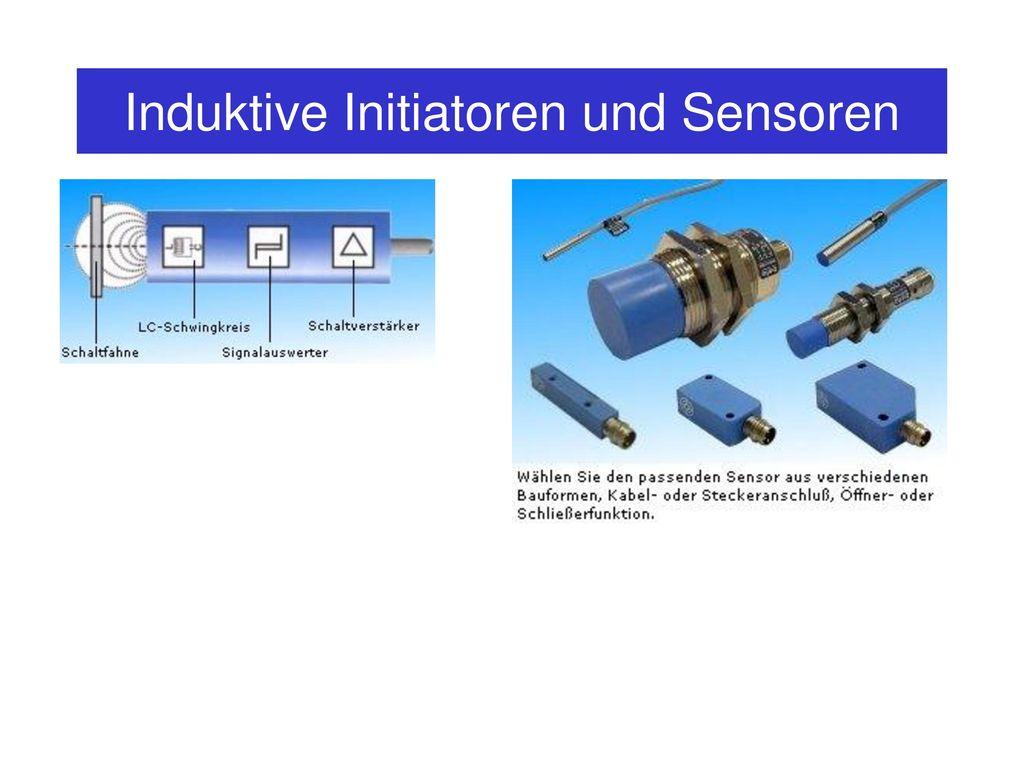 Induktive Initiatoren und Sensoren