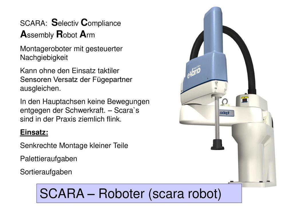 SCARA – Roboter (scara robot)