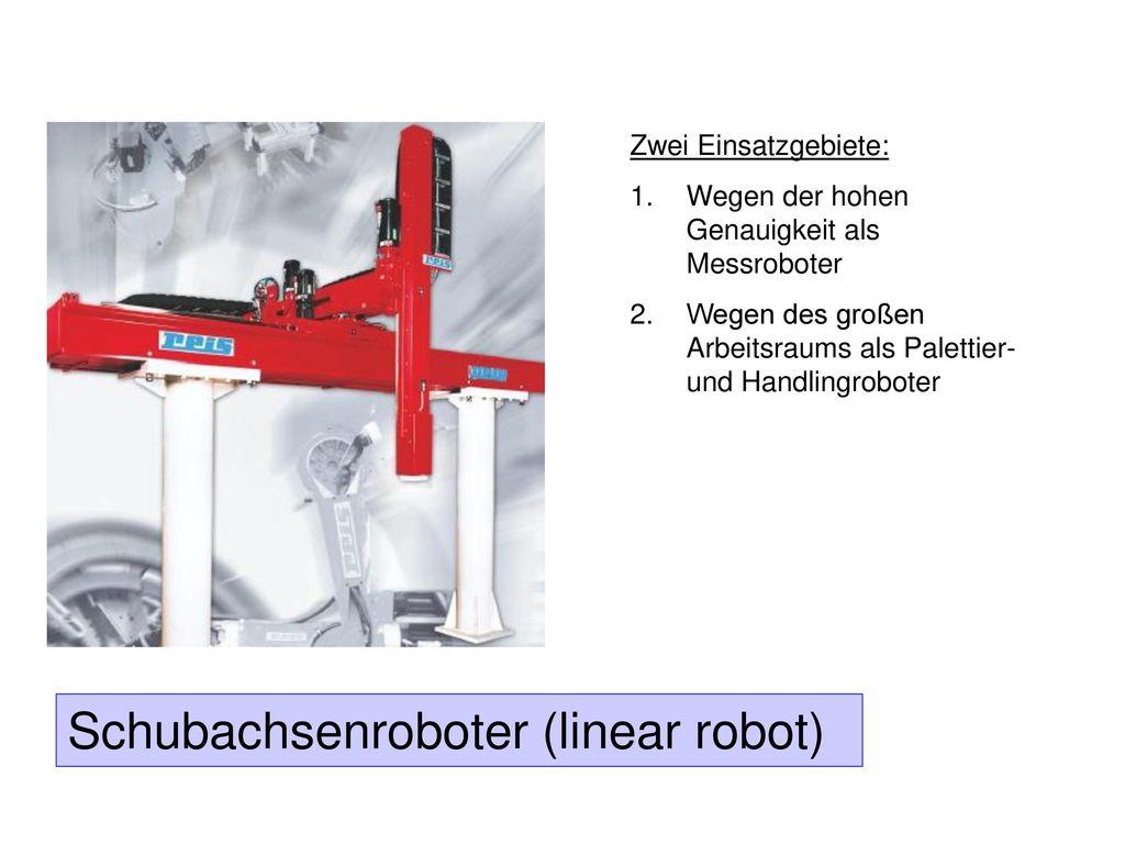 Schubachsenroboter (linear robot)