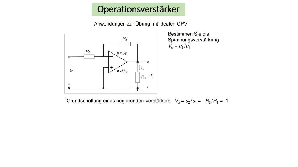 Operationsverstärker