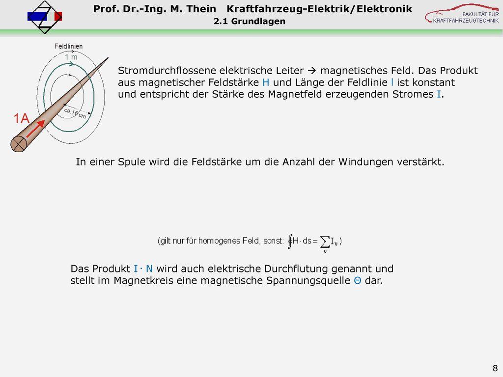 Fein Elektrische Stromkreise Für Kraftfahrzeuge Zeitgenössisch - Die ...