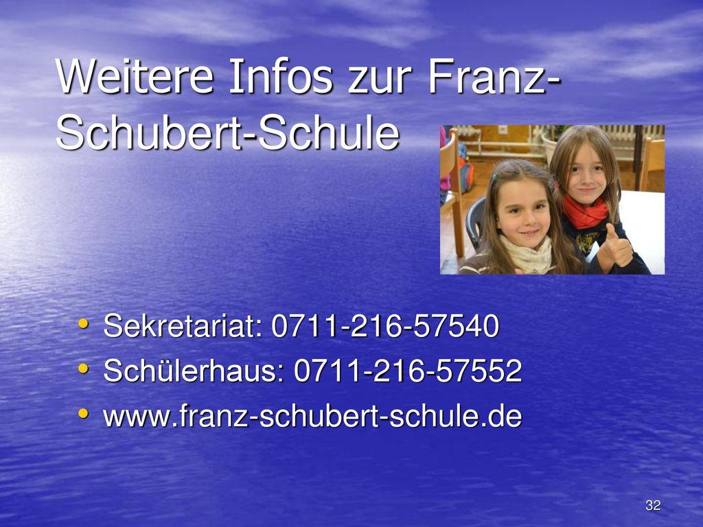 Weitere Infos zur Franz-Schubert-Schule