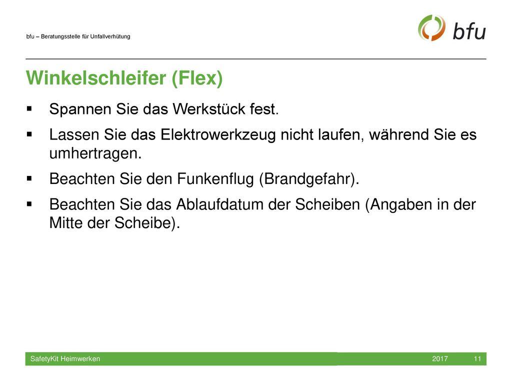 Winkelschleifer (Flex)