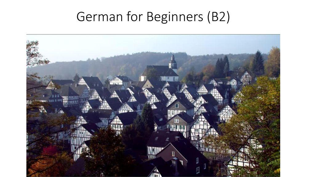 German for Beginners (B2)