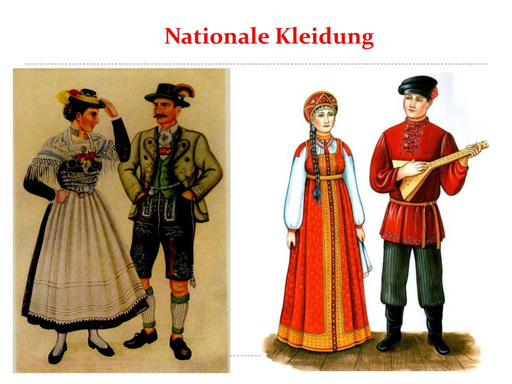 Nationale Kleidung