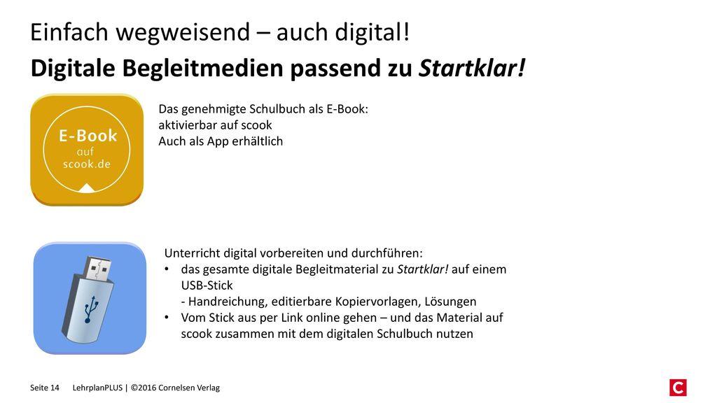 Digitale Begleitmedien passend zu Startklar!
