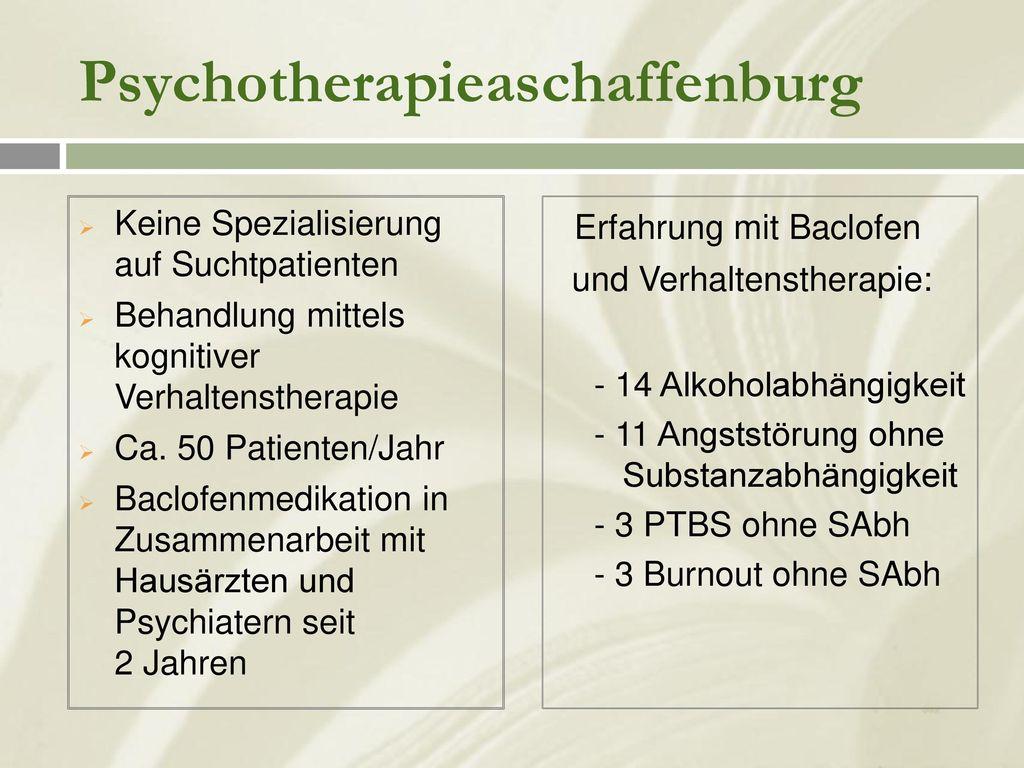 Psychotherapieaschaffenburg