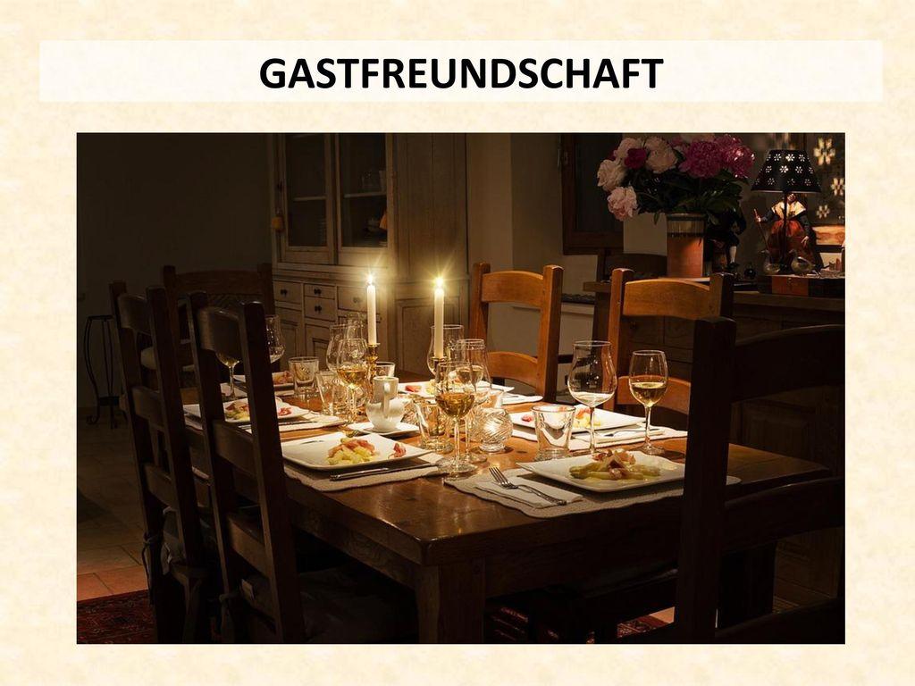 GASTFREUNDSCHAFT