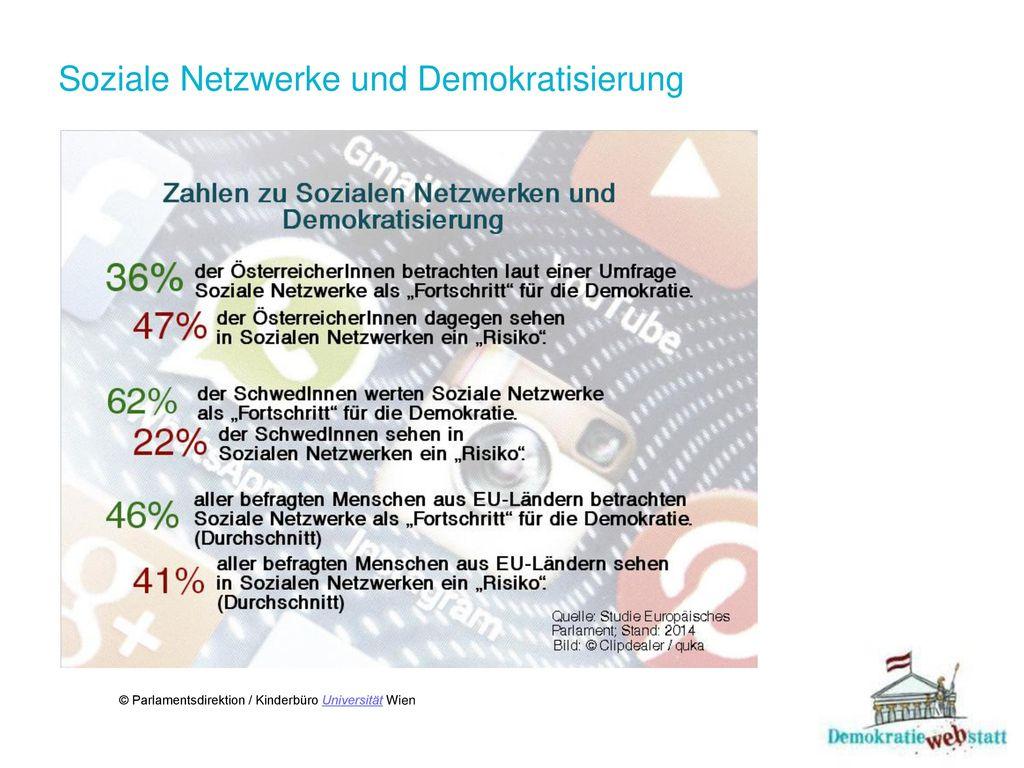 Soziale Netzwerke und Demokratisierung