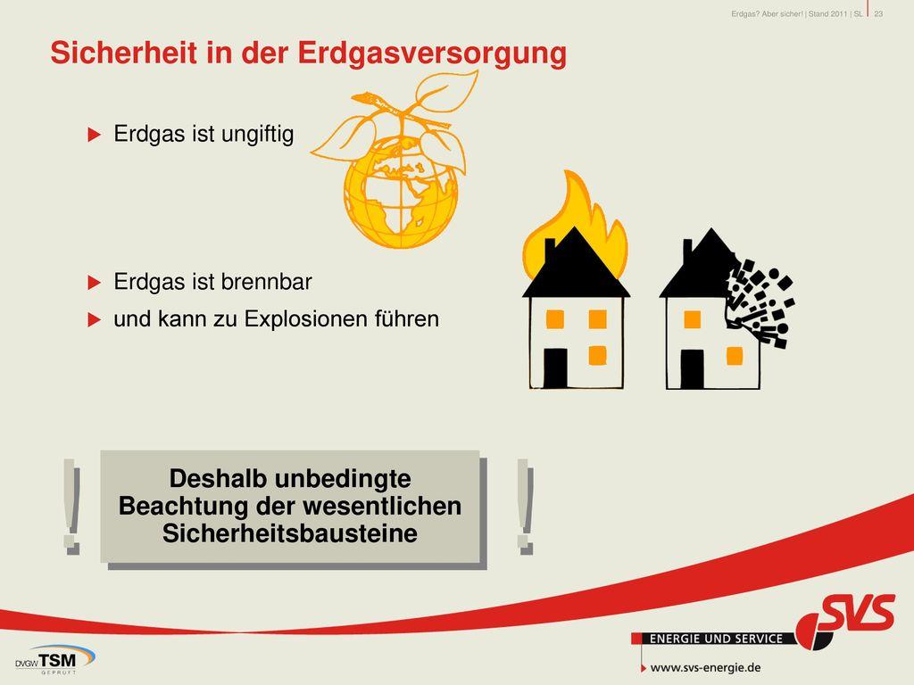 Sicherheit in der Erdgasversorgung