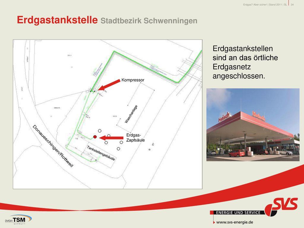 Erdgastankstelle Stadtbezirk Schwenningen