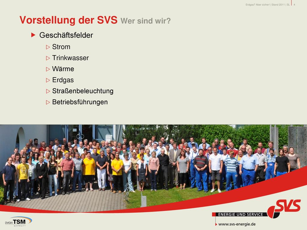 Vorstellung der SVS Wer sind wir