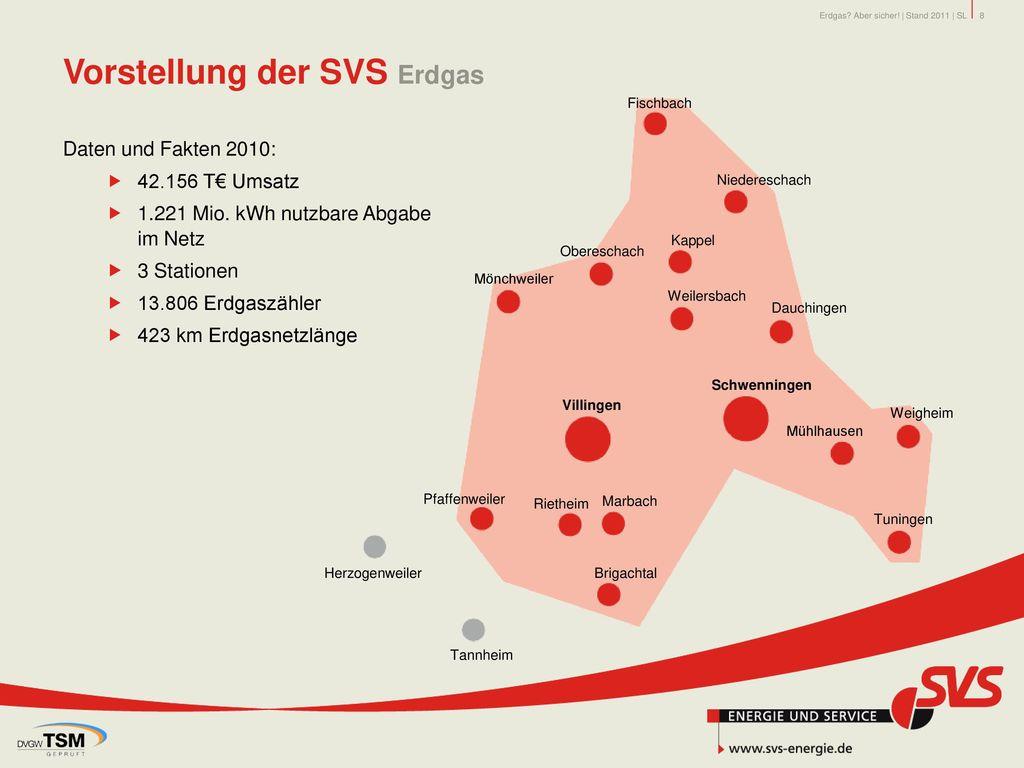 Vorstellung der SVS Erdgas
