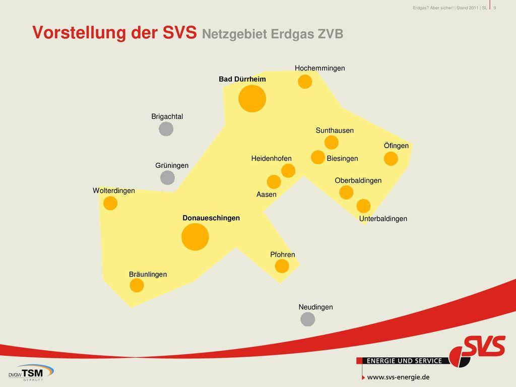 Vorstellung der SVS Netzgebiet Erdgas ZVB