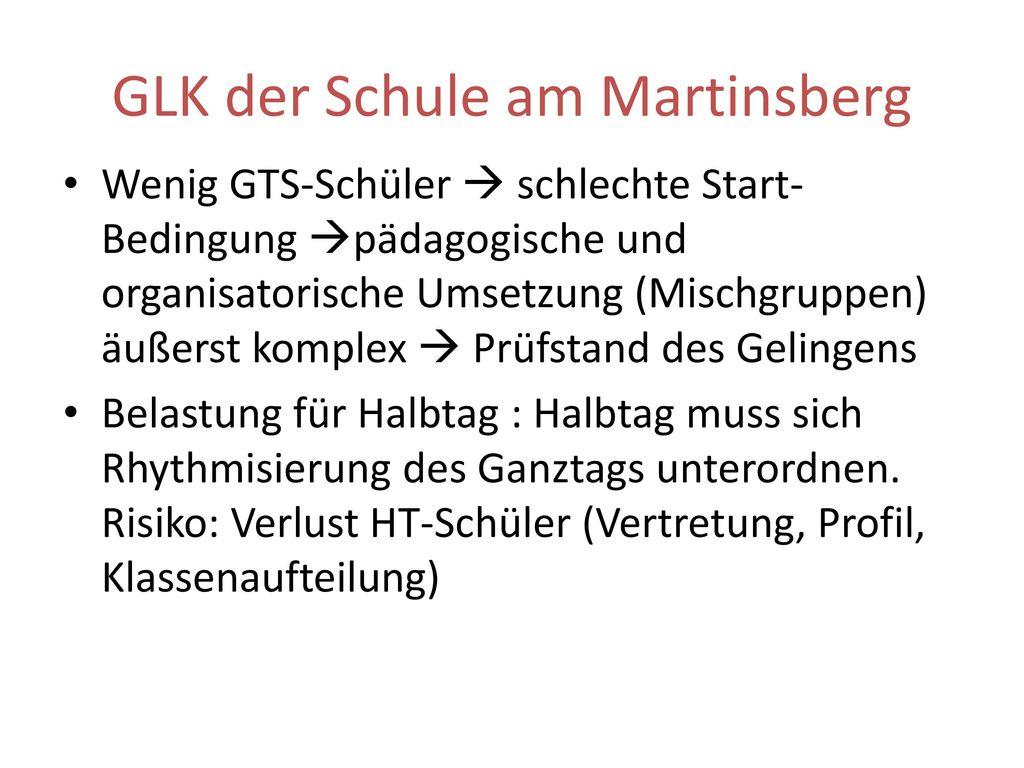 GLK der Schule am Martinsberg