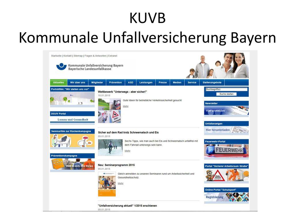 KUVB Kommunale Unfallversicherung Bayern