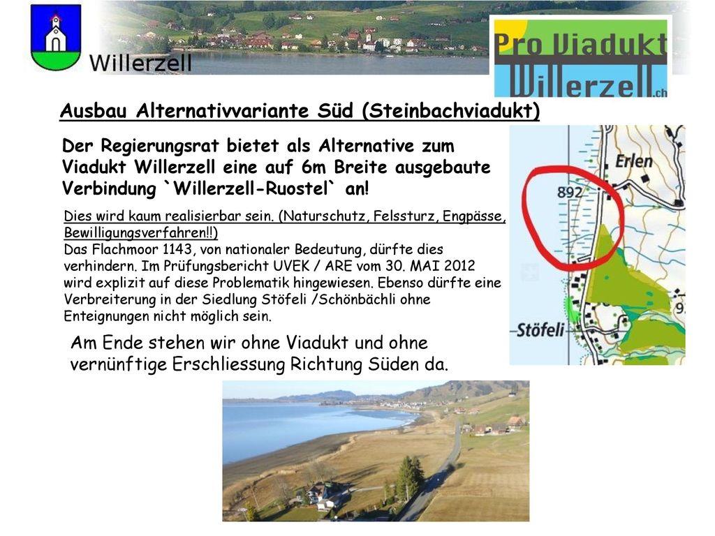 Ausbau Alternativvariante Süd (Steinbachviadukt)