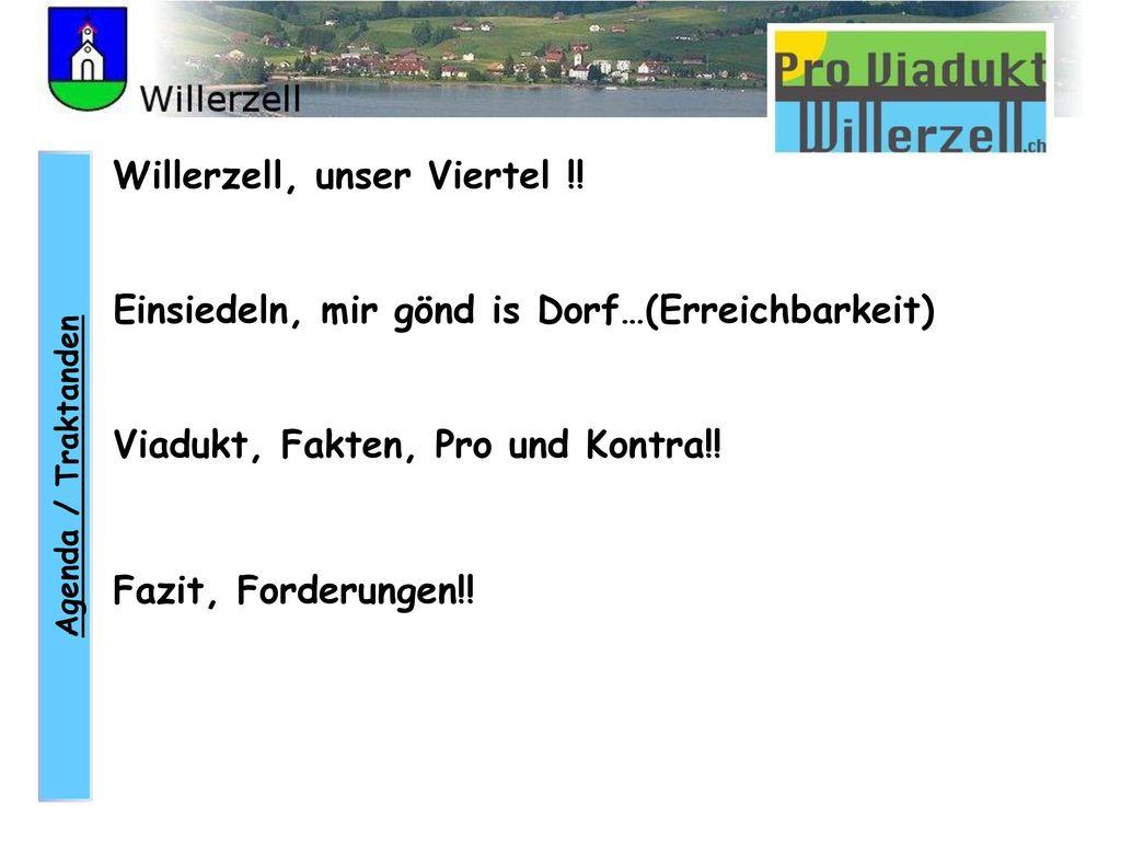 Willerzell, unser Viertel !!