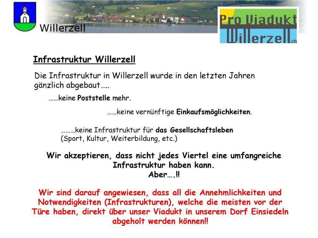 Infrastruktur Willerzell
