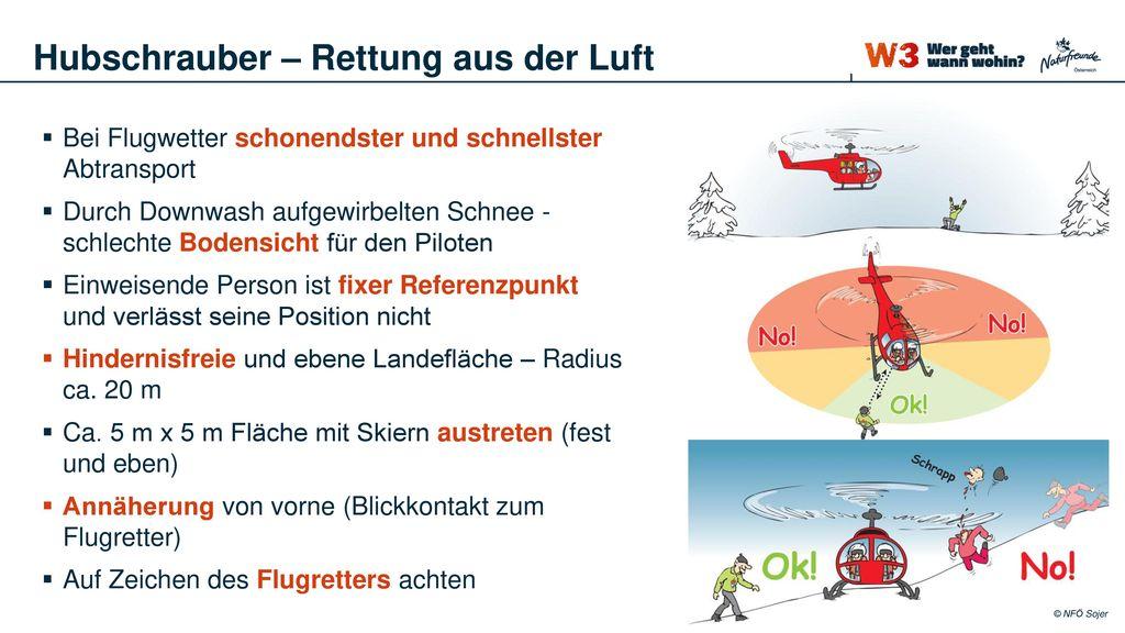 Hubschrauber – Rettung aus der Luft