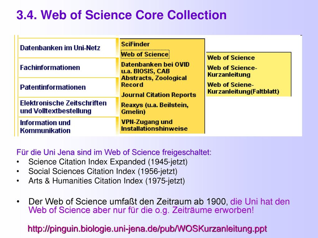 3.4. Web of Science Core Collection