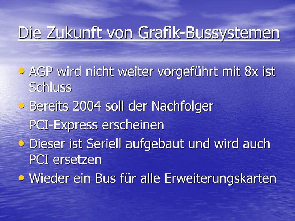Die Zukunft von Grafik-Bussystemen