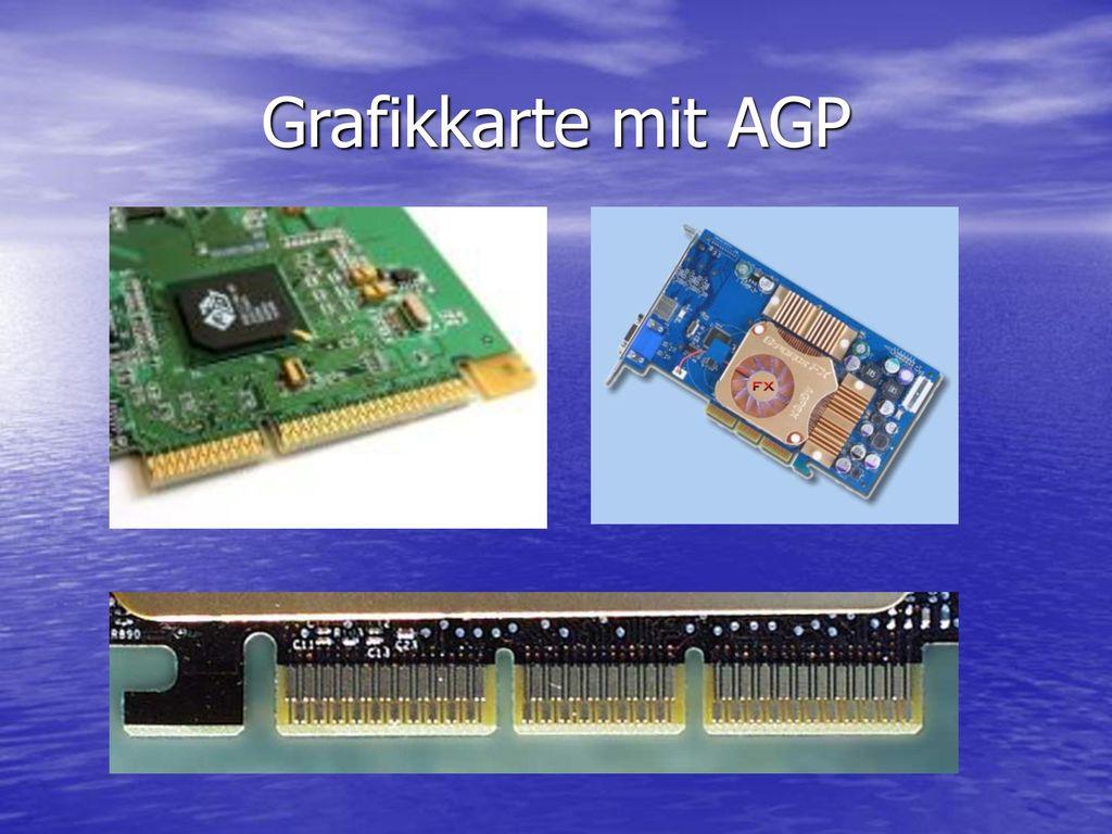 Grafikkarte mit AGP