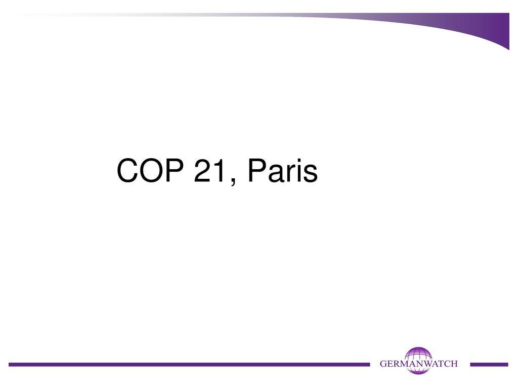 COP 21, Paris