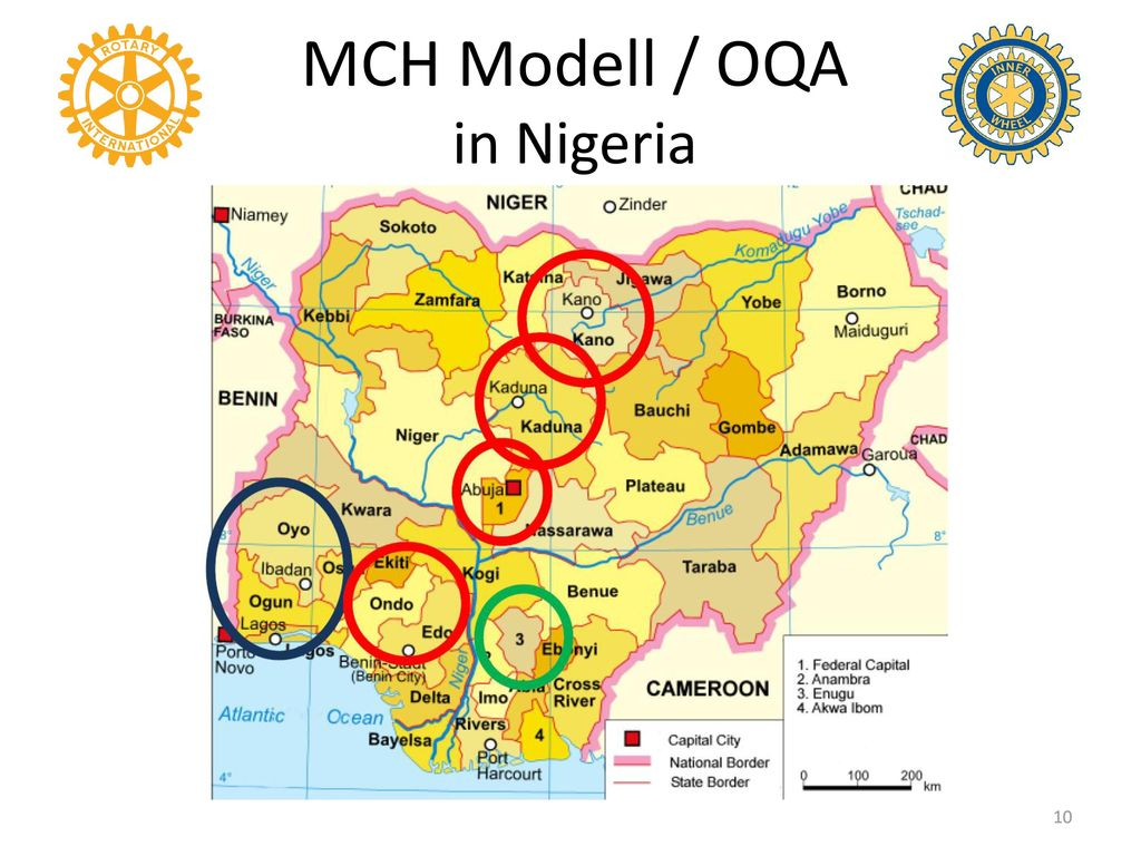 MCH Modell / OQA in Nigeria