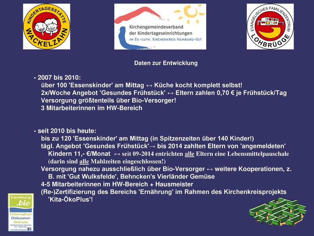 Auszug aus der Konzeption der Kita Wackelzahn mit ihrem angeschlossenen Ev. Familienzentrum Lohbrügge -