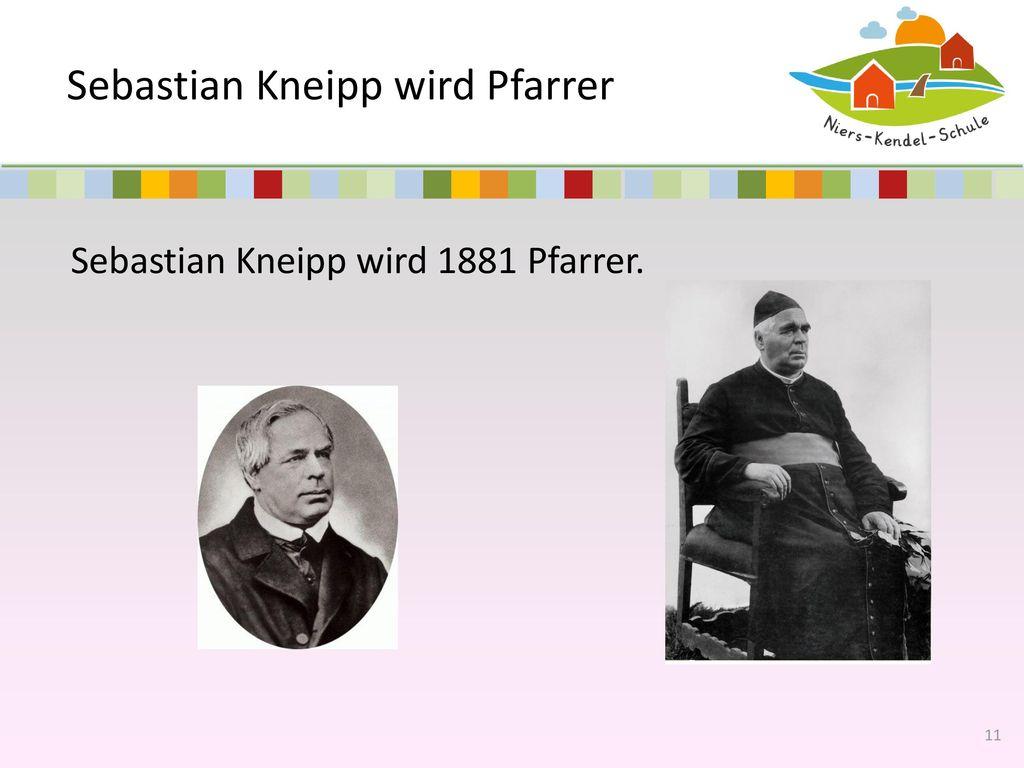 Sebastian Kneipp wird Pfarrer