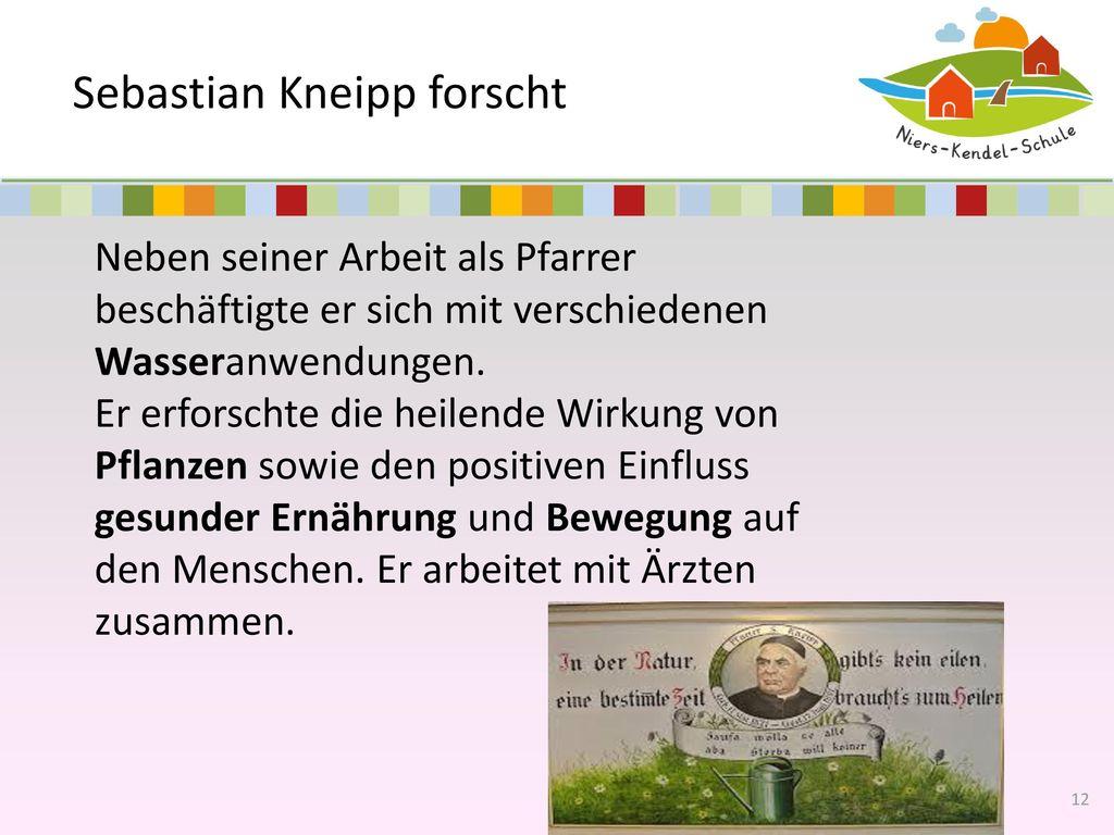Sebastian Kneipp forscht