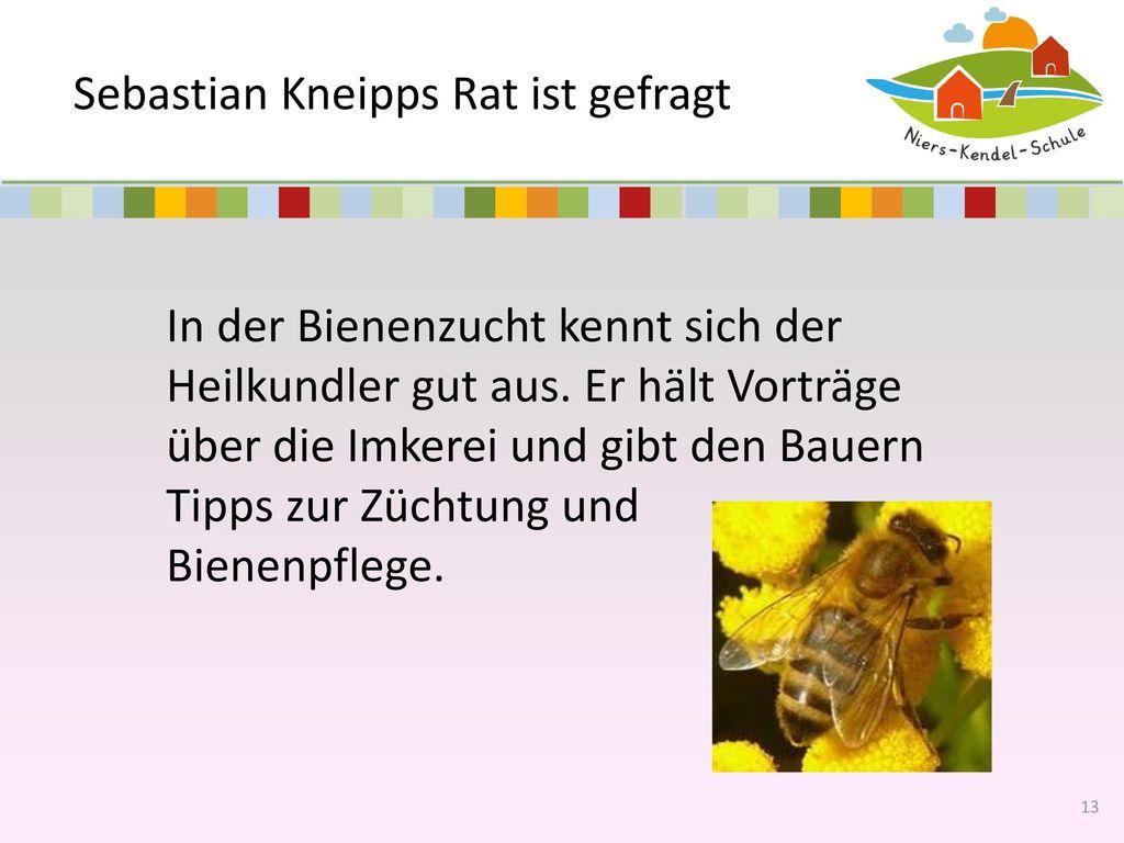Sebastian Kneipps Rat ist gefragt