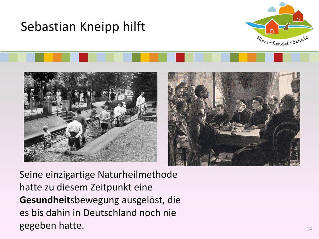 Sebastian Kneipp hilft