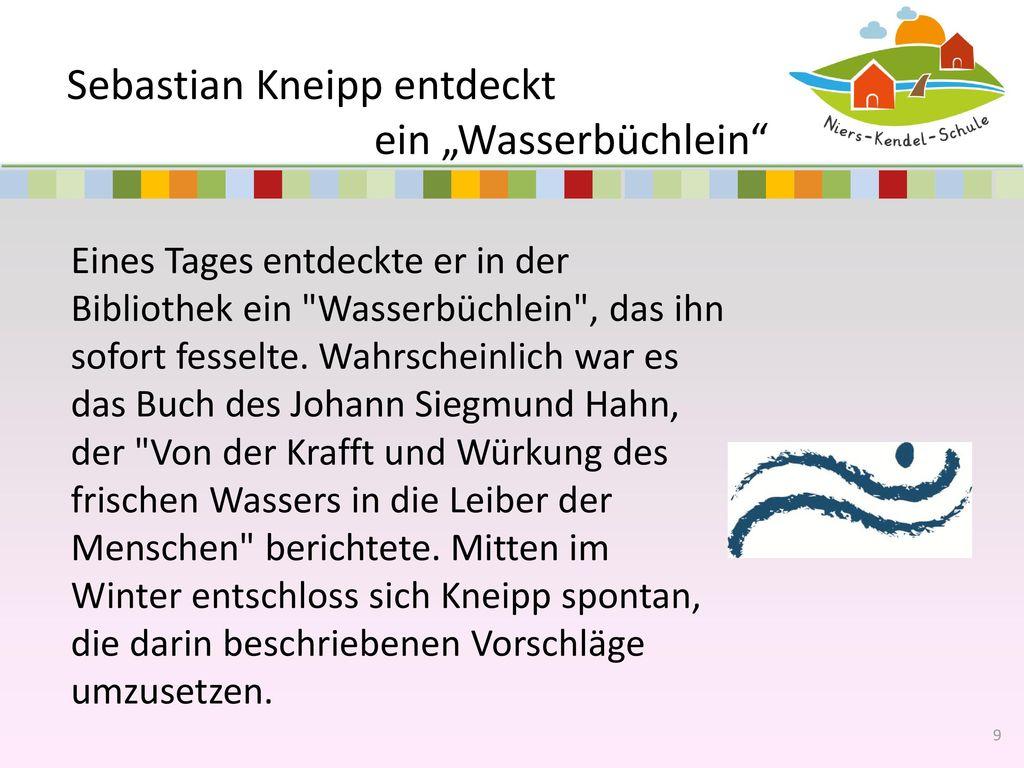 """Sebastian Kneipp entdeckt ein """"Wasserbüchlein"""
