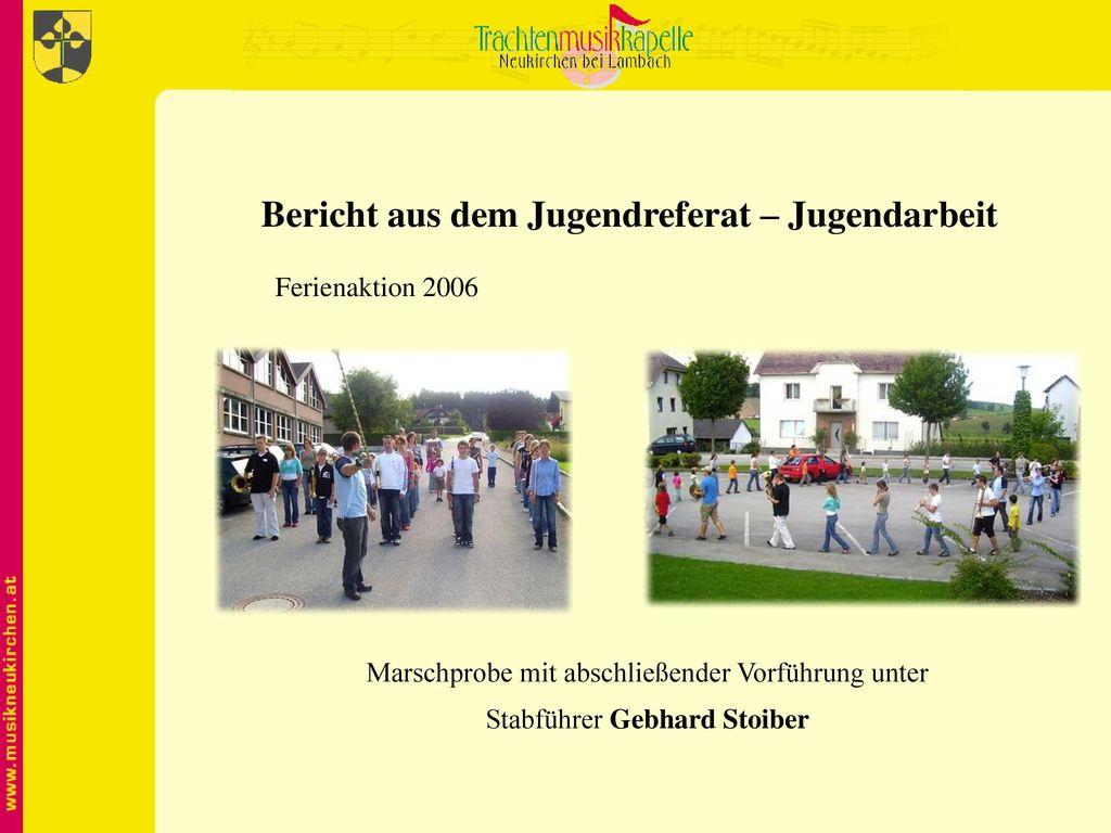 Bericht aus dem Jugendreferat – Jugendarbeit