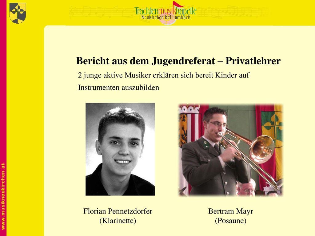 Bericht aus dem Jugendreferat – Privatlehrer