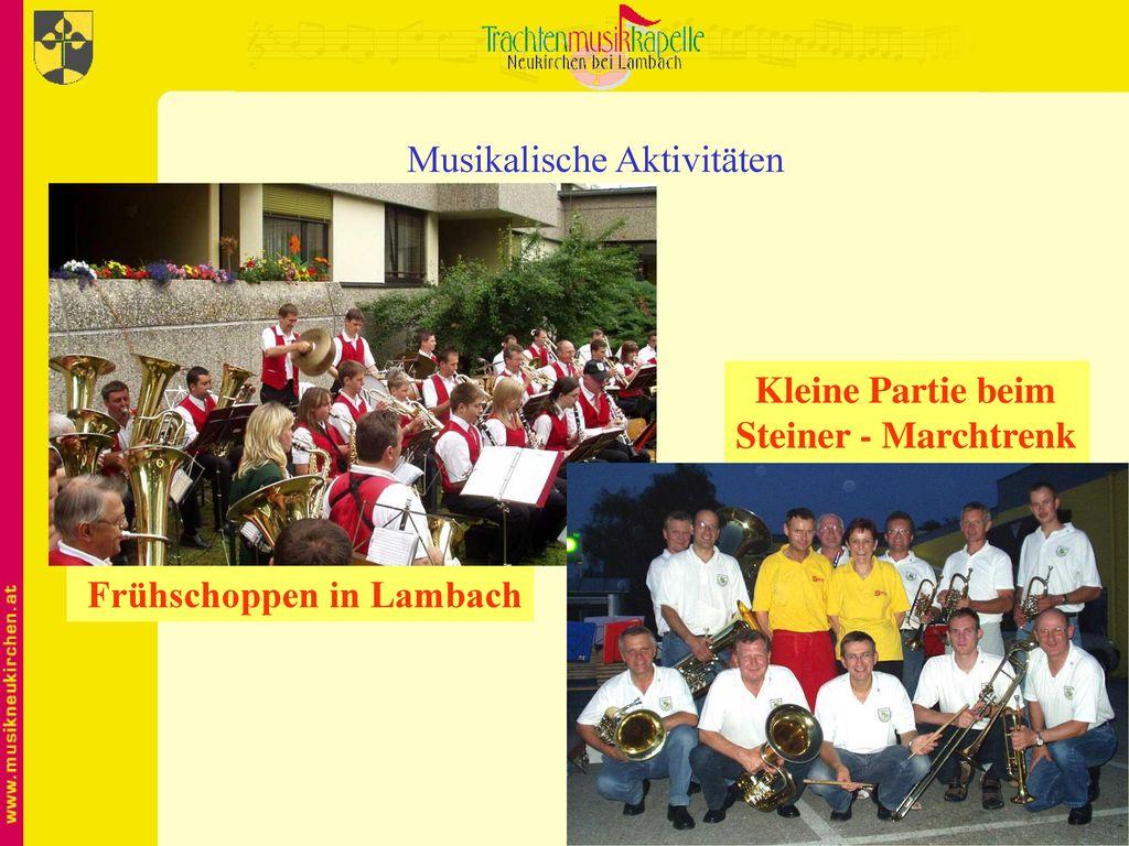 Musikalische Aktivitäten