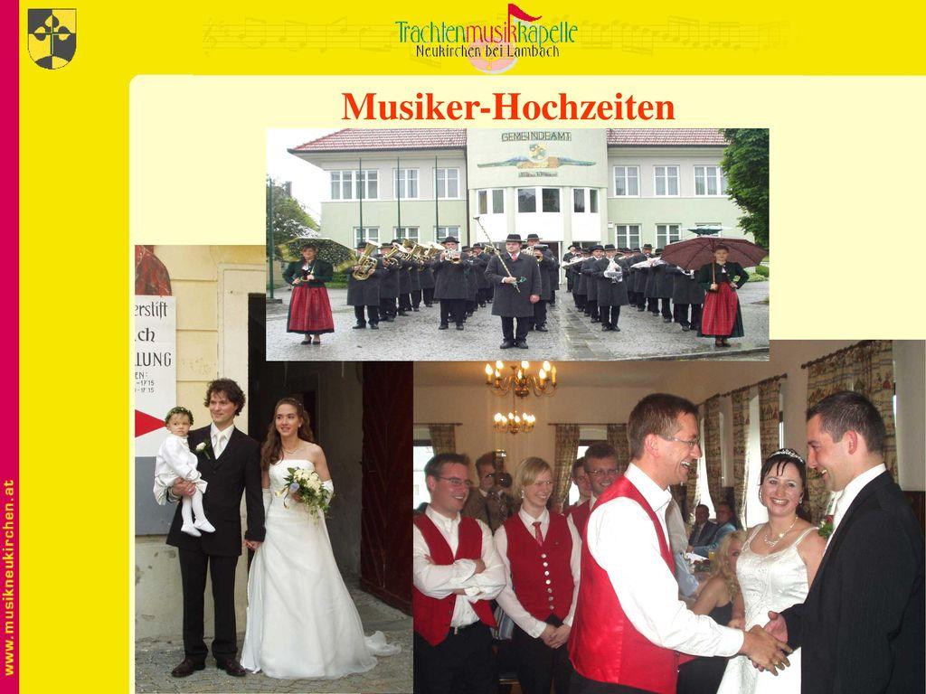 Musiker-Hochzeiten