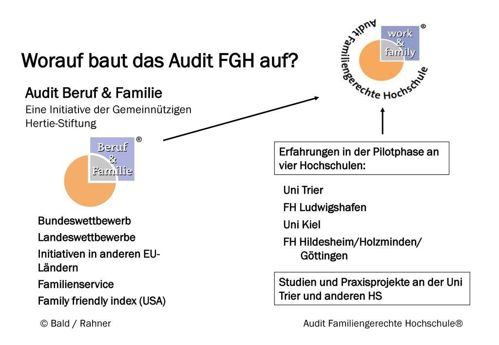 Worauf baut das Audit FGH auf