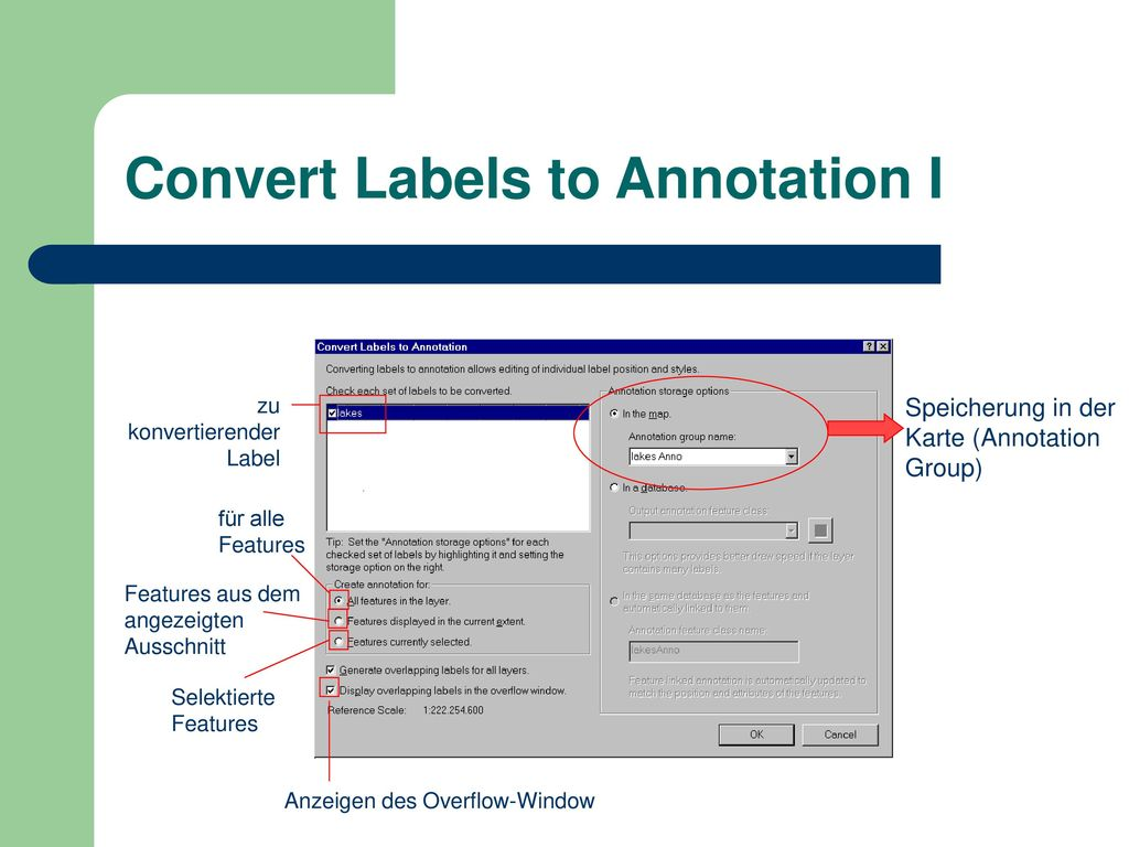 Convert Labels to Annotation I