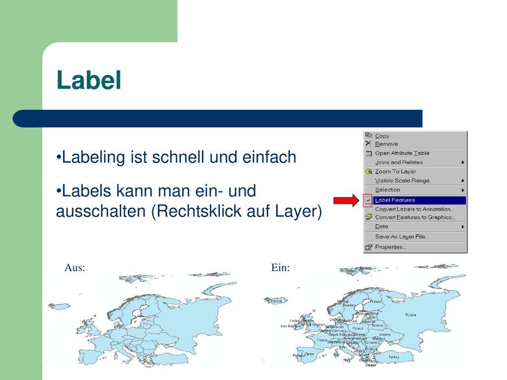 Label Labeling ist schnell und einfach